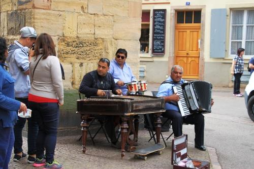157 Colmar Straßenmusik
